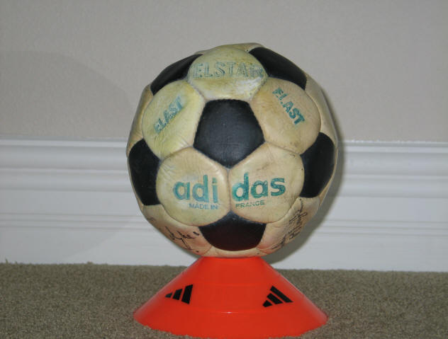 1968 Telstar Elast 2 Official World Cup Telstar Match Soccer Ball