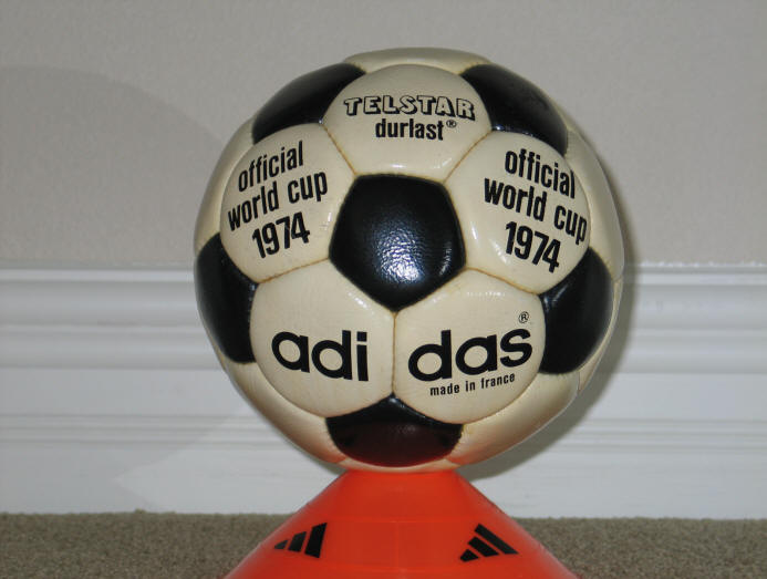 1974 Telstar Durlast Official World Cup 1974 Durlast Soccer Ball