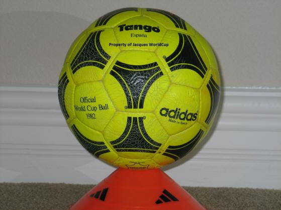 1982 Espana World Cup Ball Yellow-1 Official World Cup 1982 Tango Espana Soccer Ball