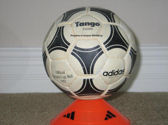 1982 Tango Espana World Cup Ball-1 Official World Cup 1982 Tango Espana Soccer Ball