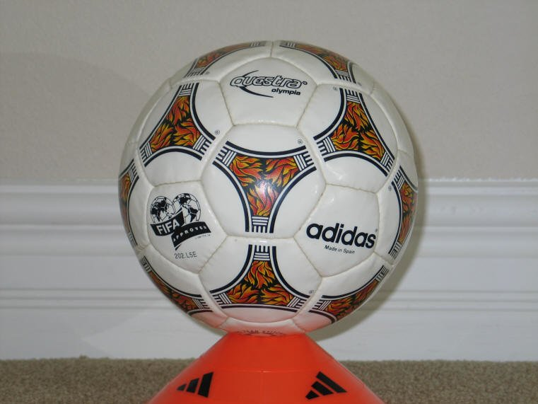 1996 Questra Olympia Official match balls of the Olympic Games