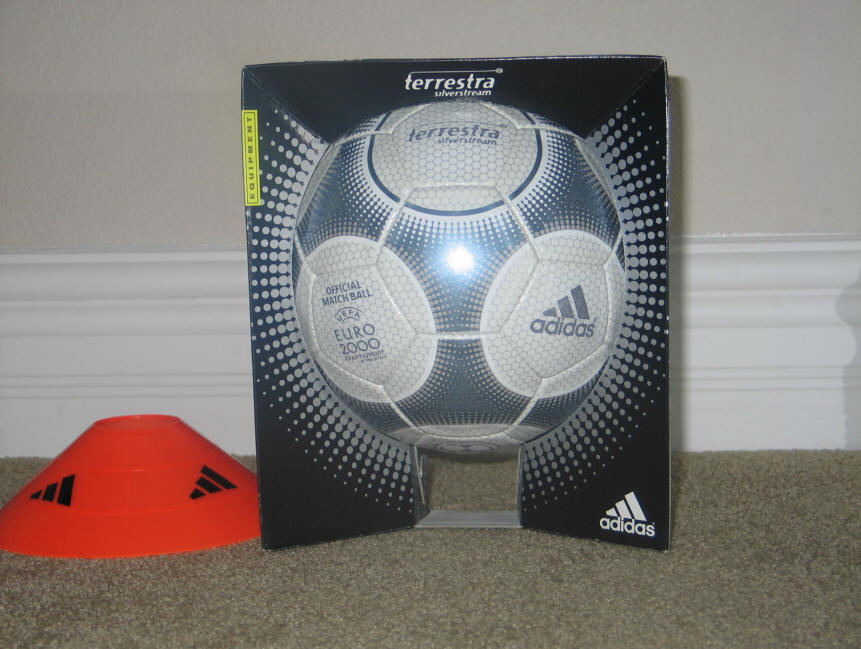 2000 Terrestra Euro ball with box