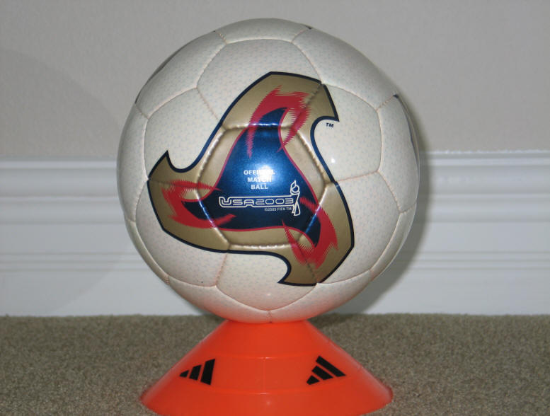 2003 Women's World Cup Ball Official World Cup Soccer Ball 2002 - Fevernova