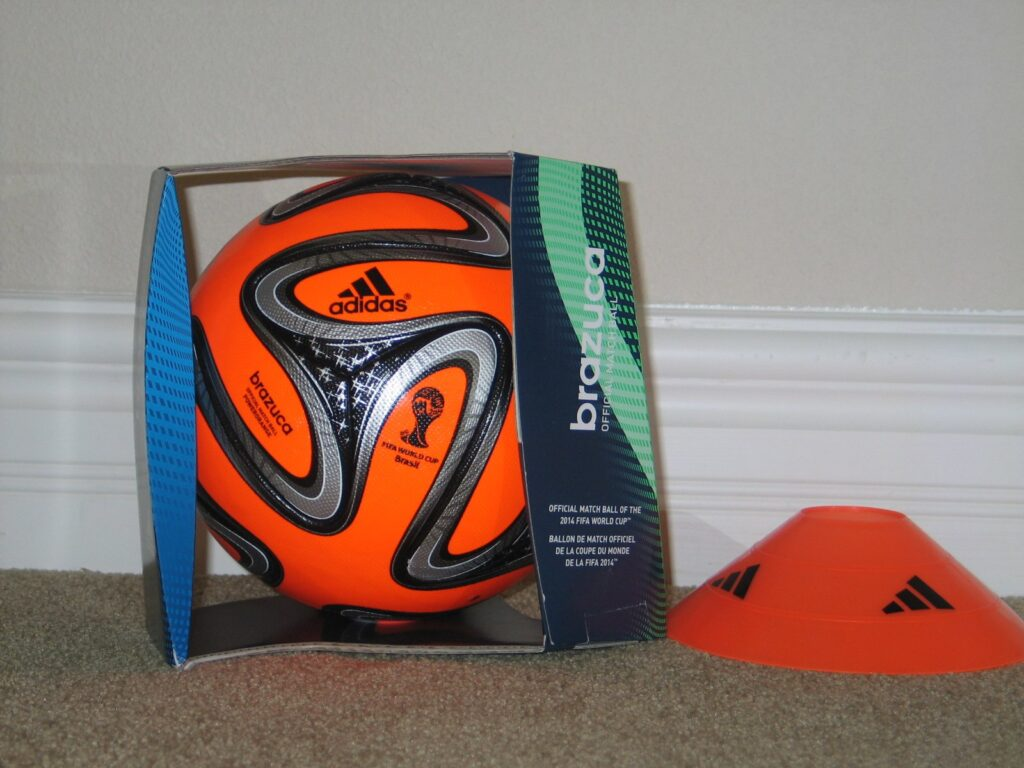 2014 Brazuca World Cup PowerOrange Ball