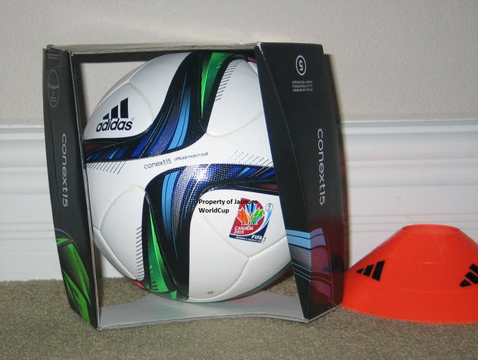 2015 Womens World Cup ball-conext15 Official Women's World Cup Match Ball: Conext15