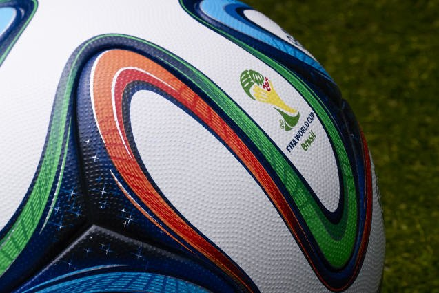 Adidas Brazuca 2 Official Match Ball - 2014 World Cup Brazuca Soccer Ball