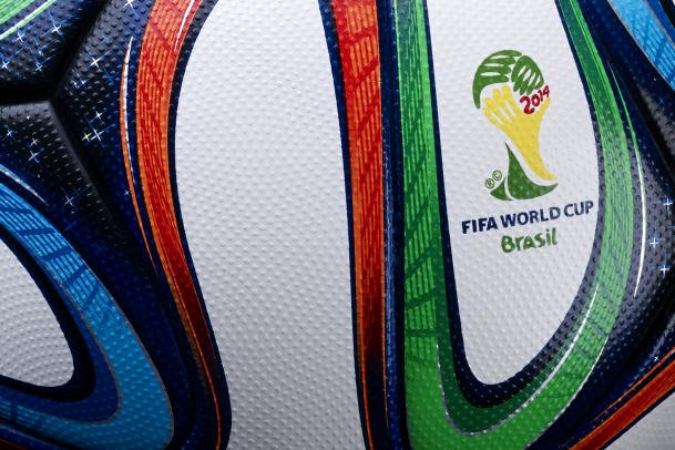 Adidas Brazuca 3 Official Match Ball - 2014 World Cup Brazuca Soccer Ball