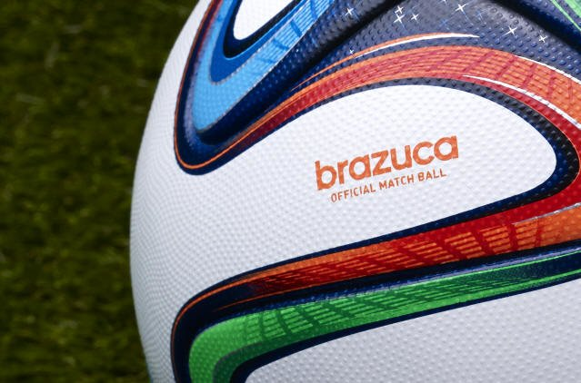 Adidas Brazuca 4 Official Match Ball - 2014 World Cup Brazuca Soccer Ball