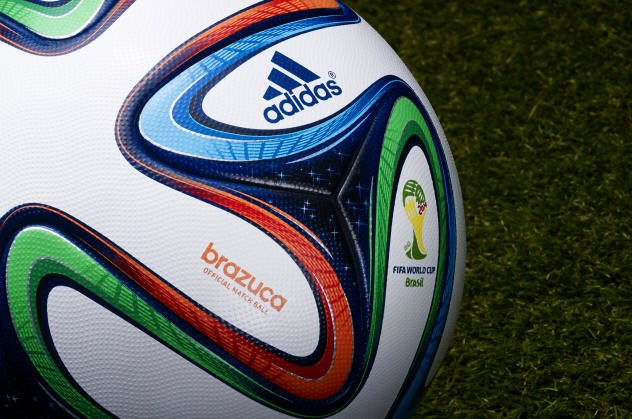 Adidas Brazuca 5 Official Match Ball - 2014 World Cup Brazuca Soccer Ball