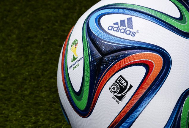 Adidas Brazuca 6 Official Match Ball - 2014 World Cup Brazuca Soccer Ball