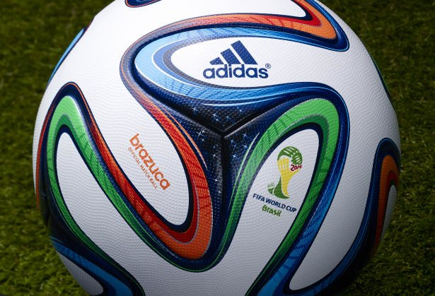 Adidas Brazuca 9 Official Match Ball - 2014 World Cup Brazuca Soccer Ball