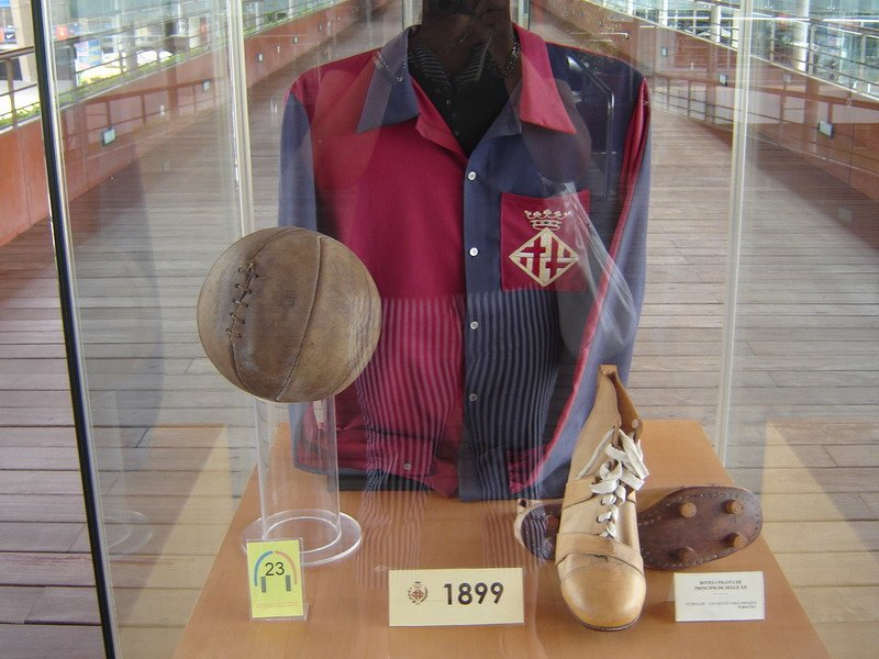 Barcelona 1899 ball History of the Soccer Ball