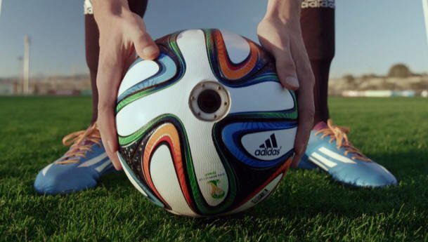 Brazuca Cam Official Match Ball - 2014 World Cup Brazuca Soccer Ball