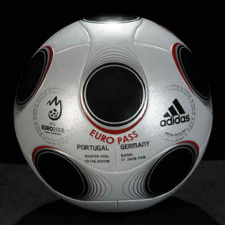 EURO_POR-GER-0005a Adidas Euro Pass Official Match Ball of UEFA EURO 2008