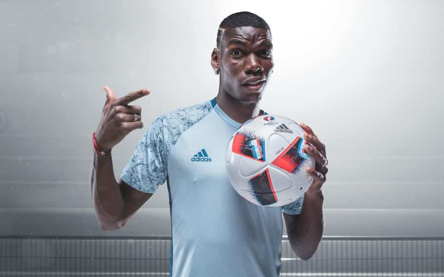 Euro_Facas 2016_4 Pogba Fracus UEFA EURO 2016 Match Ball Knock Out Stage