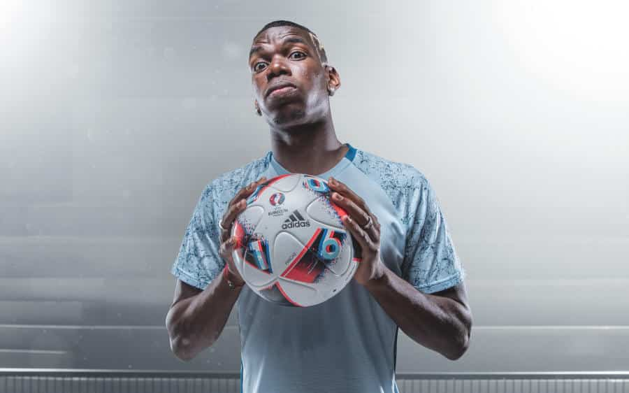 Euro_Facas 2016_5 Pogba Fracus UEFA EURO 2016 Match Ball Knock Out Stage