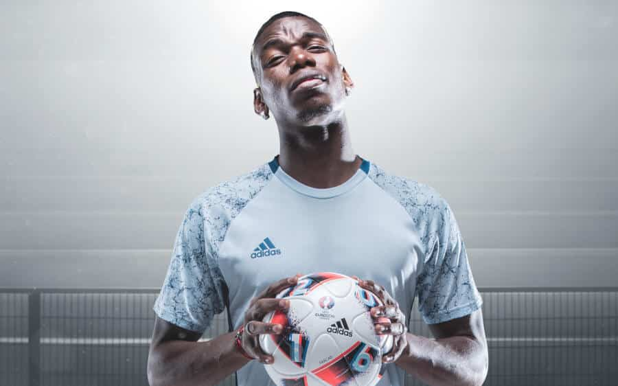 Euro_Facas 2016_7 Pogba Fracus UEFA EURO 2016 Match Ball Knock Out Stage