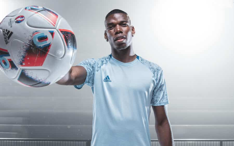 Euro_Facas 2016_8 Pogba Fracus UEFA EURO 2016 Match Ball Knock Out Stage