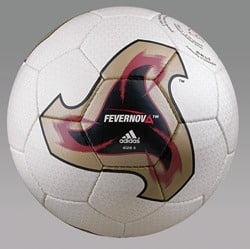 Fevernova ball Official World Cup Soccer Ball 2002 - Fevernova