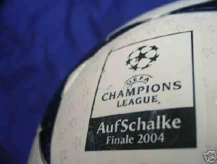 Finale 2004 Match-Bal l2 Champions League Balls