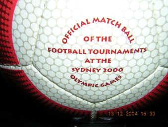 Gamarada-2 Gamarada Olympic 2000 Soccer Ball
