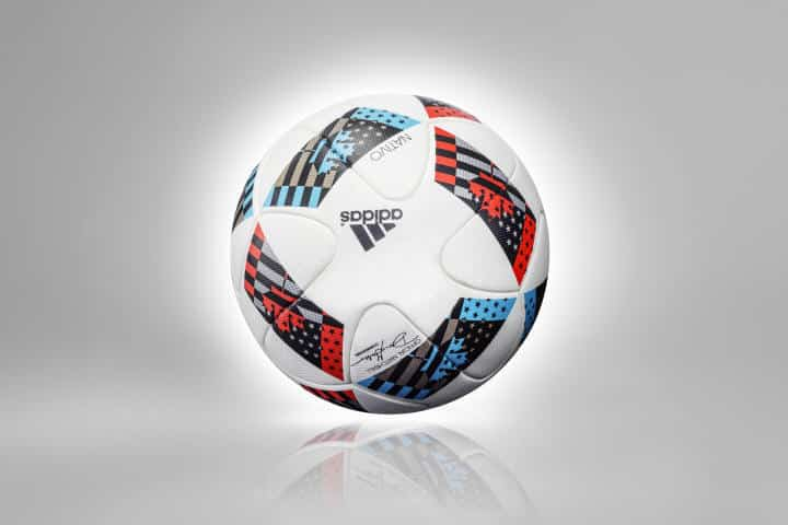 MLS_2016_BALL_22 OFFICIAL MLS MATCH BALL 2016 - NATIVO