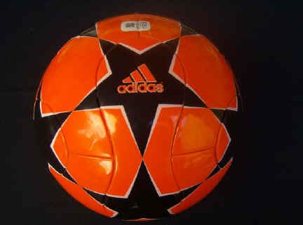 Power orange_2006_finale Champions League Balls