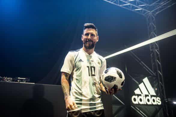 Messi Stars Telstar 18 Russia_15 Official Match Ball - 2018 World Cup Telstar 18 Soccer Ball (Football)