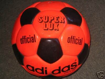 Super-Lux-Adidas hi vis Official World Cup 1974 Durlast Soccer Ball