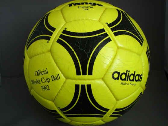 Tango_1982_yellow Official World Cup 1982 Tango Espana Soccer Ball