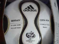 Germany Costa Rica Kick Off Ball Official World Cup Final Match Ball Teamgeist Soccer Ball