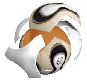 Teamgeist_World_Cup_Ball_Panels Official World Cup Final Match Ball Teamgeist Soccer Ball