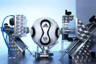 Teamgeist Roundness Circum Soccer Ball Testing and Approvals