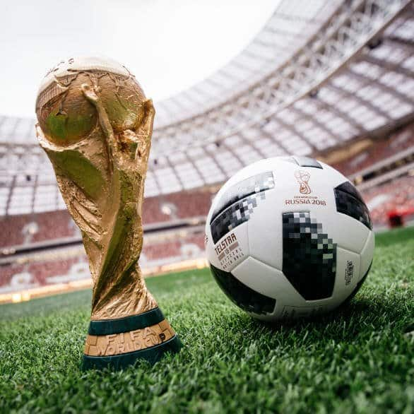 Telstar 18 Ball_12 Trophy Official Match Ball - 2018 World Cup Telstar 18 Soccer Ball (Football)
