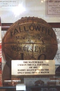 ball FA CUP 1893 History of the Soccer Ball
