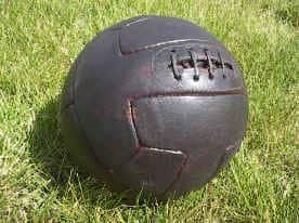 english ball old History of the Soccer Ball