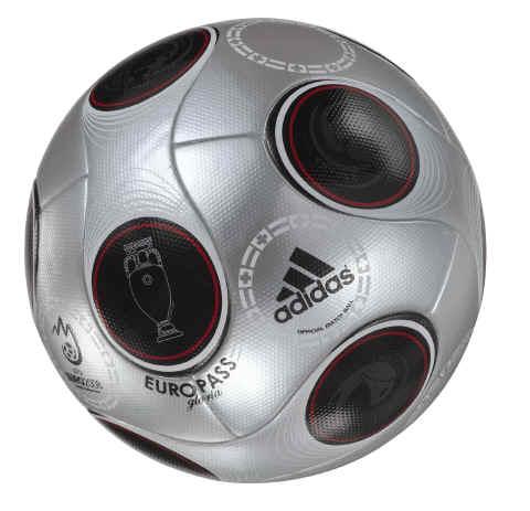 euro pass match ball Adidas Euro Pass Official Match Ball of UEFA EURO 2008