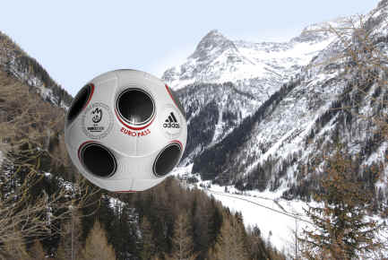 europass_mountain Adidas Euro Pass Official Match Ball of UEFA EURO 2008