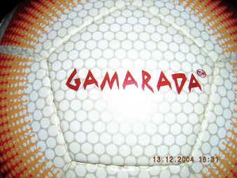 gamarada logo Gamarada Olympic 2000 Soccer Ball