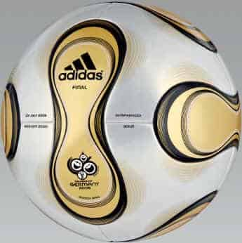 golden_ball Official World Cup Final Match Ball Teamgeist Soccer Ball
