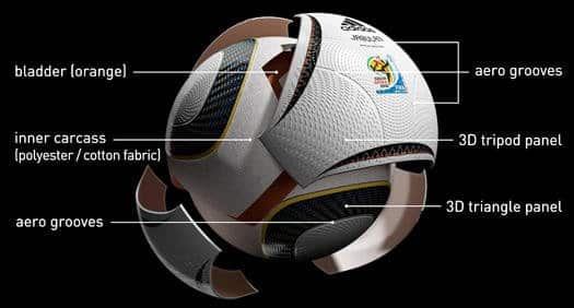 jubulani explode Jabulani 2010 World Cup Soccer Ball