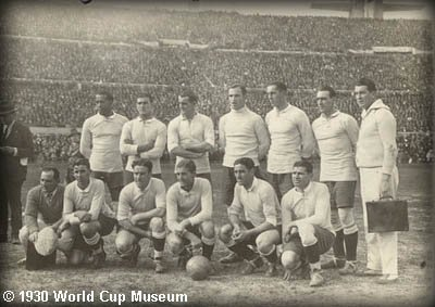 1930 world cup team The First World Cup Soccer Ball
