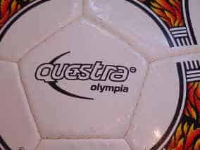 questraOlymLogo Official match balls of the Olympic Games