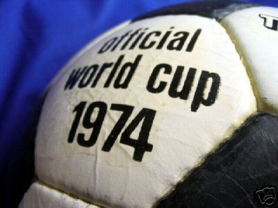 telstar1974-2 Official World Cup 1974 Durlast Soccer Ball