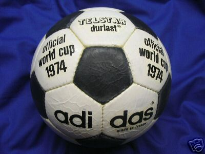 telstar1974 Official World Cup 1974 Durlast Soccer Ball