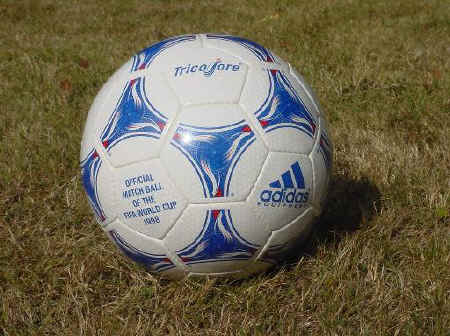 tricolre 3 Official World Cup 1998 Tricolore Soccer Ball
