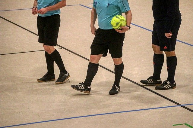Referee Soccer Ball Rules and Laws